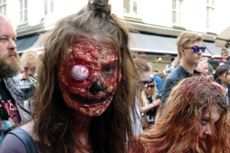 zombie walk stockholm 2018